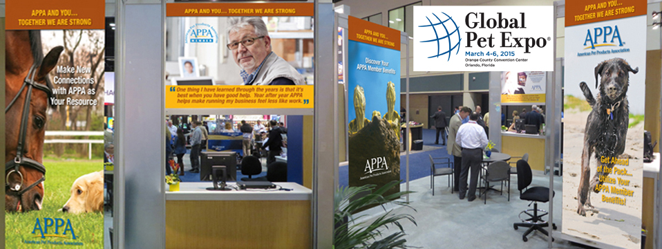 APPA Booth Graphics at GPE